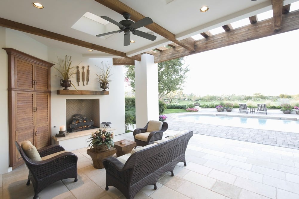 Outdoor or Indoor Ceiling Fan