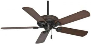 Casablanca Indoor Ceiling Fan, with pull chain control - Ainsworth 54 inch, Cocoa, 54001
