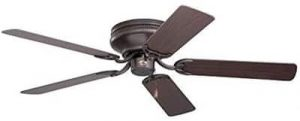 Emerson Ceiling Fans CF805SORB Snugger 52-Inch Low Profile Hugger Ceiling Fan, Light Kit Adaptable, Oil Rubbed Bronze Finish
