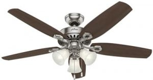 Hunter Fan Company Hunter 53237 Transitional 52in Ceiling Fan from Builder Plus collection