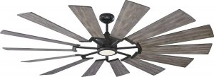 Monte Carlo Prairie Grand Windmill 72-Inch Outdoor Ceiling Fan